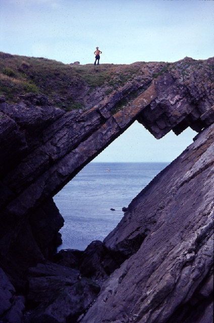 Devil's Bridge on Worms Head