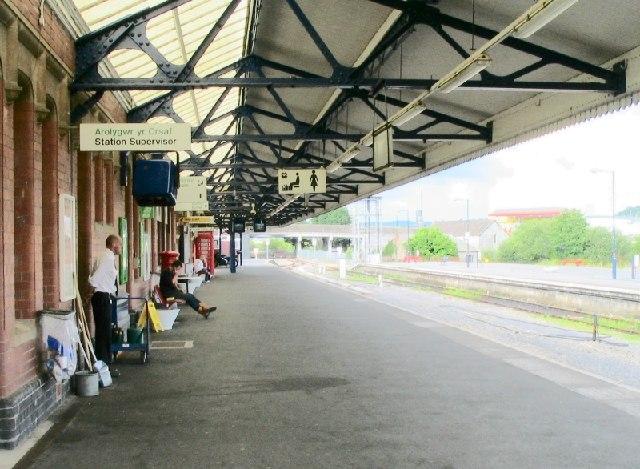 Carmarthen Railway Station
