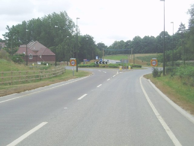 New road at Bolnore