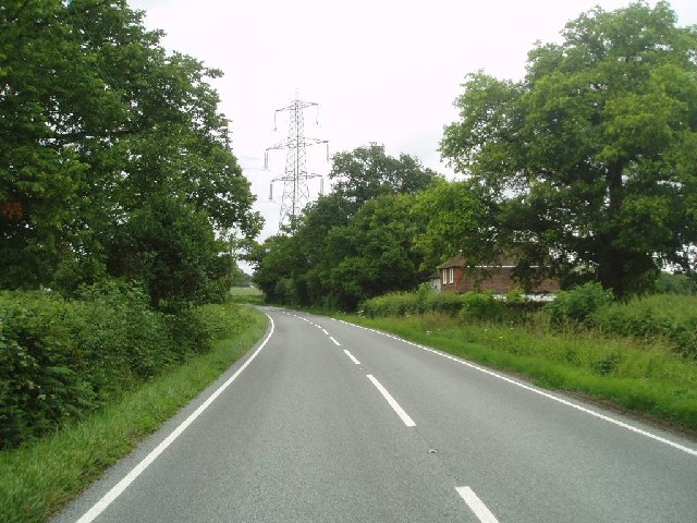 The pylon on the Haywards Heath road