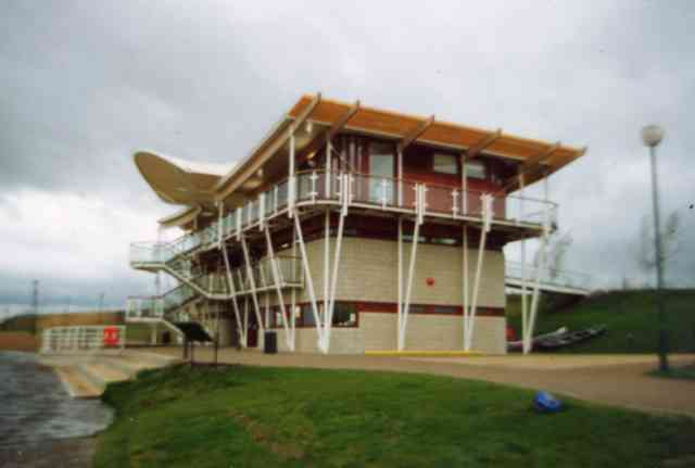 Whitewater Park  clubhouse