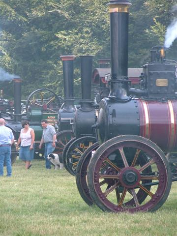 Fleet of Traction Engines