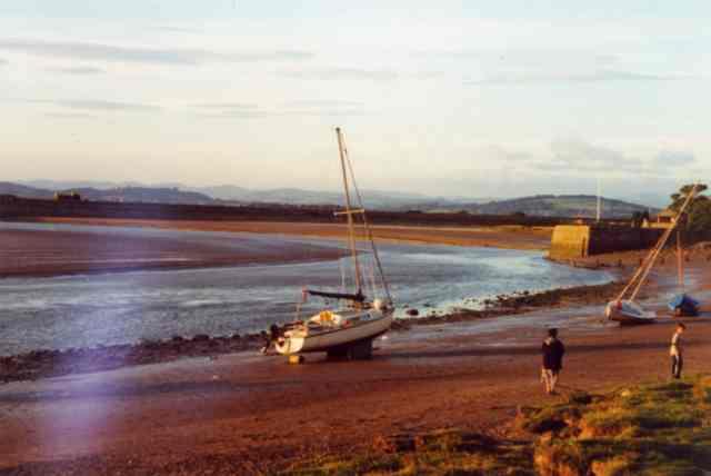 Arnside beach, Cumbria
