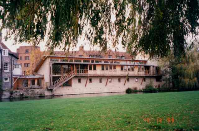 Darwin College library  Cambridge