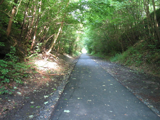 West Fife Cycleway at Comrie Dean