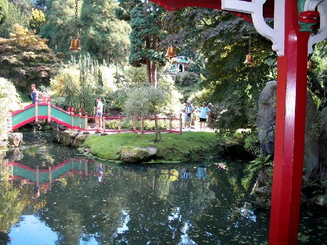 Chinese garden at Biddulph Grange