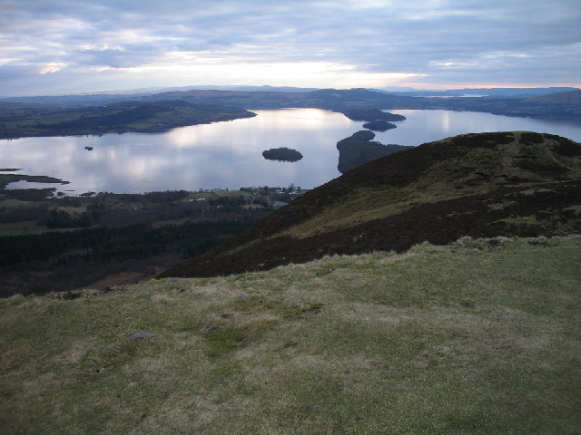 Highland Fault Line from Conic Hill