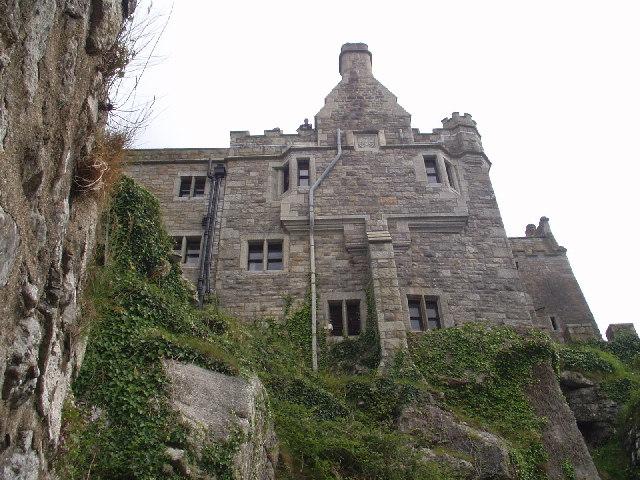 Castle on St Michael's Mount