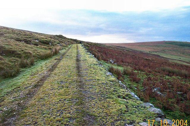 Two Moors way just past Sharp Tor - Dartmoor