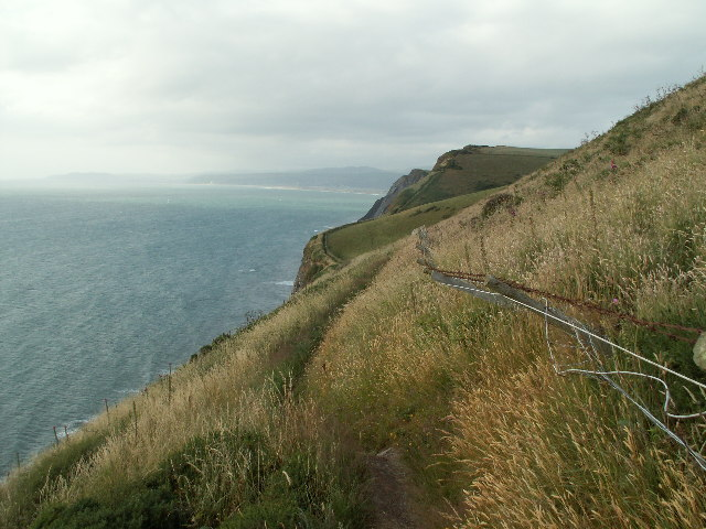 Cliff path between Wallog and Borth