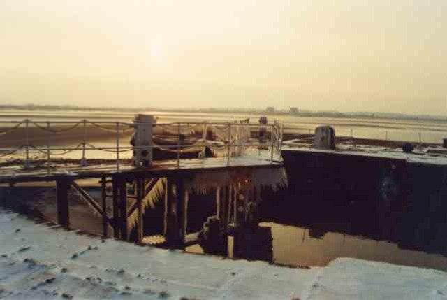 Canal lock gates  Lydney