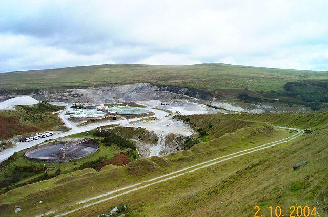 China clay works - Dartmoor