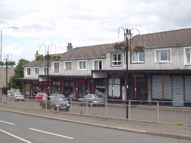Row of shops, Eaglesham