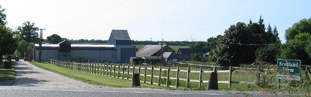 Scotland Farm entrance