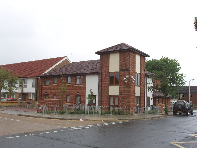 West London YMCA accommodation, Northolt Grange estate