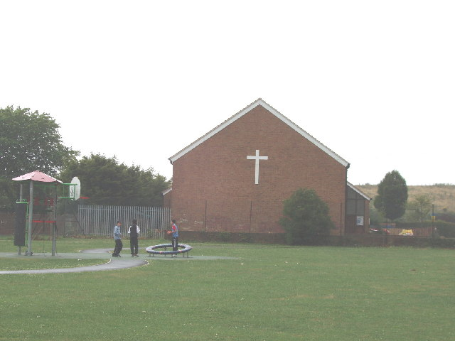 Northolt Grange Free Church (Baptist) and play area