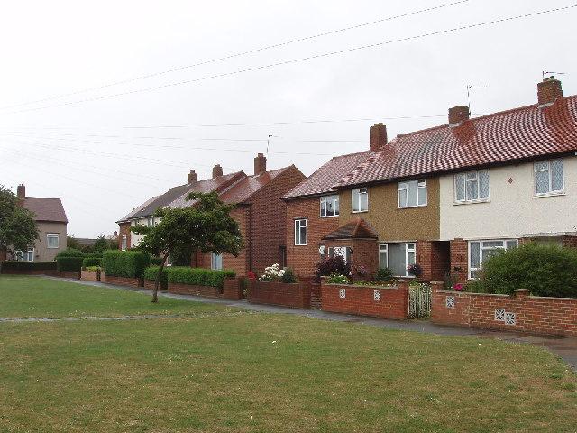 Rushdene Close, Northolt Grange estate
