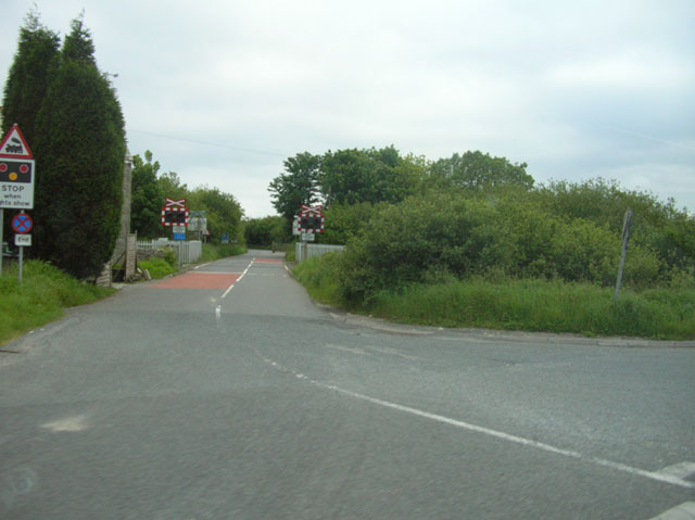 Level Crossing (just off the A30 at Goss Moor)