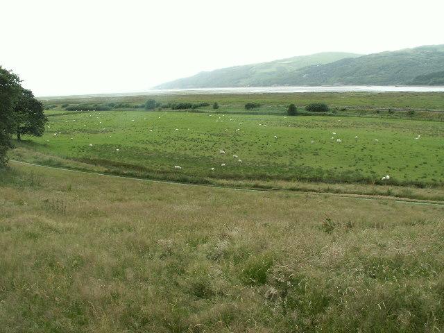 Dyfi Estuary from Ynys Edwin