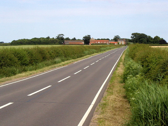 The road to Withernsea