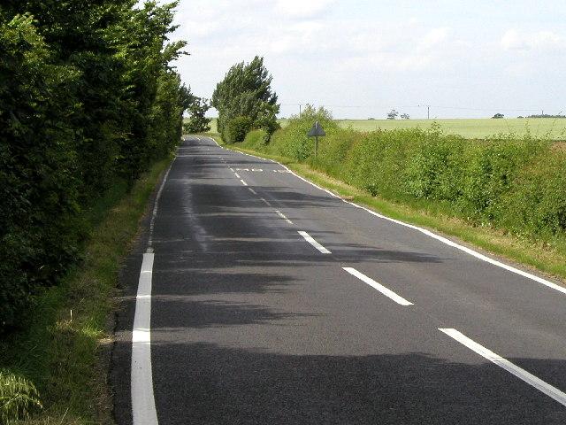 The Halsham-Burstwick road.