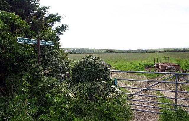 Footpath to Arragon