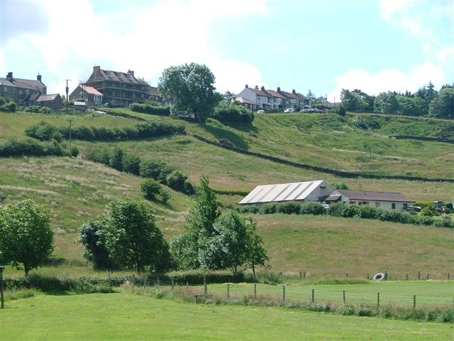 High Castleton From the Sports Field