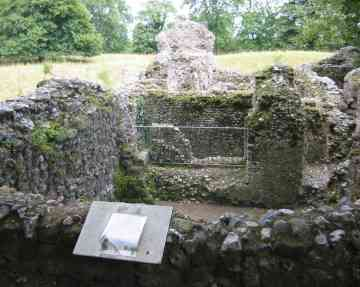 North Elmham Cathedral  ruins