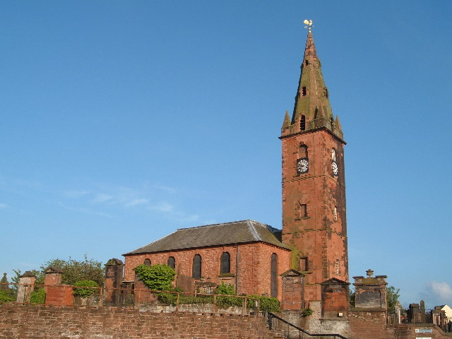 St Michaels Church.  Dumfries