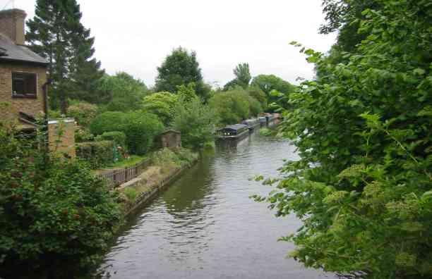 Grand Union Canal, Hunton Bridge
