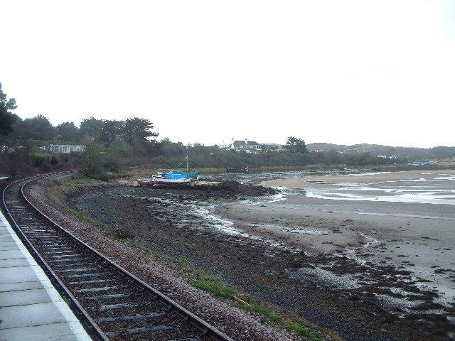 Railway at Lelant