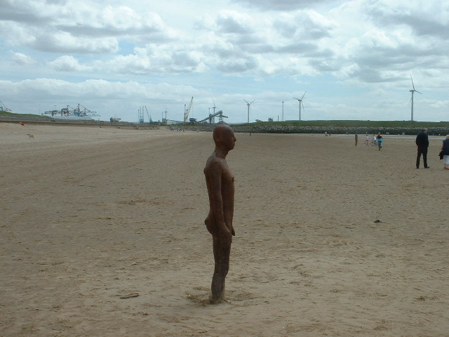 Statue, Another Place, Crosby Beach