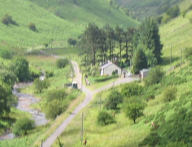House below the Grwyne Reservoir