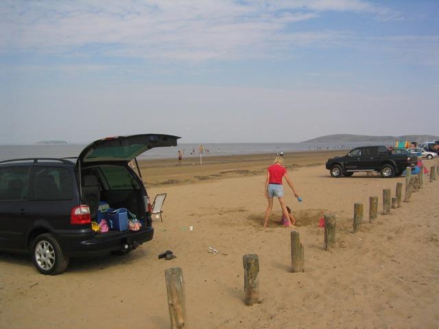 Burnham on Sea Beach