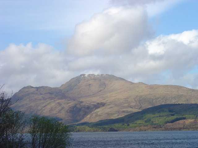 Loch Lomond with view of Ben Lomond
