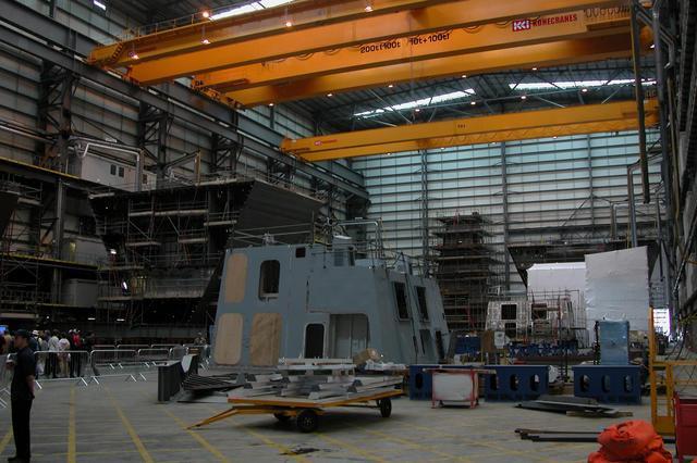 Inside Vosper Thorneycroft shipbuilders