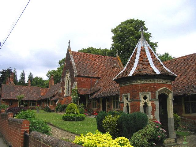 Almshouses, South Weald, Essex