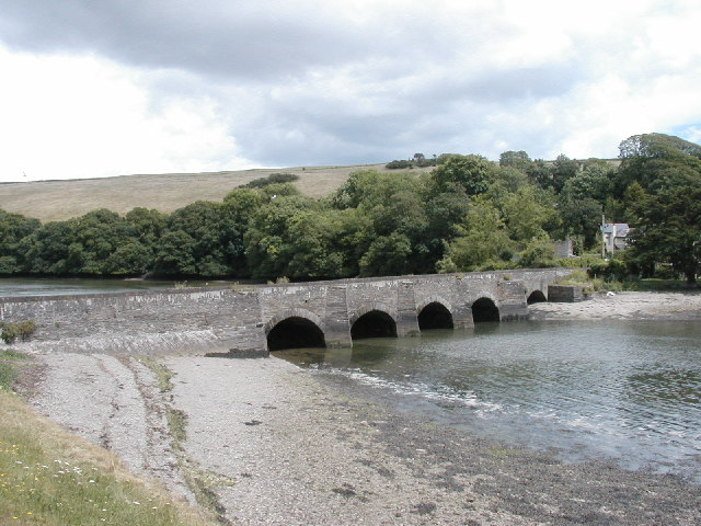 New Bridge, Bowcombe Creek, Kingsbridge Estuary