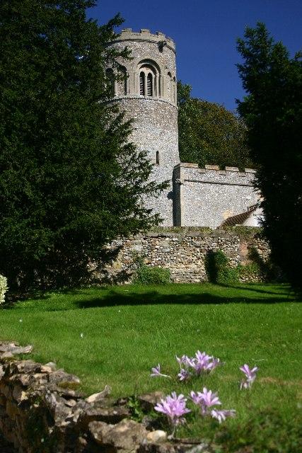 Little Saxham Church