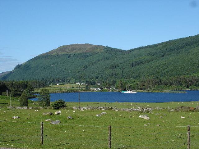 Laggan Locks from Kilfinnan
