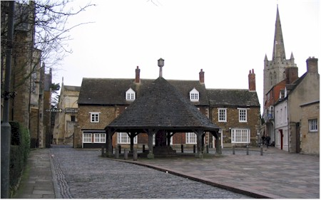 Oakham Buttercross & Church