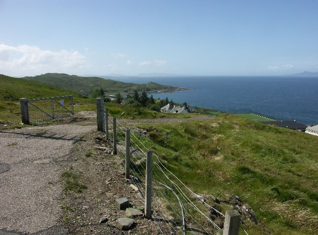 View South from Mallaig