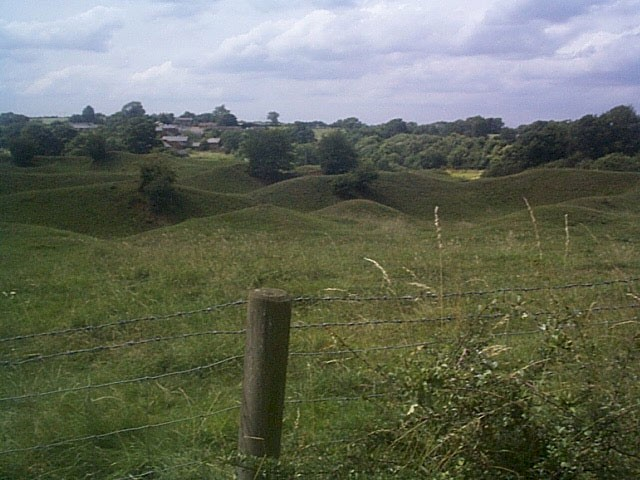 Brown's Hill Quarry towards Holwell