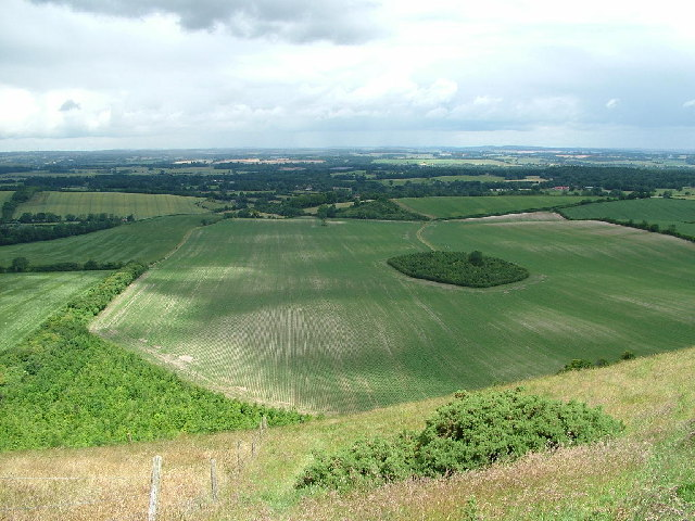 North from Inkpen Hill