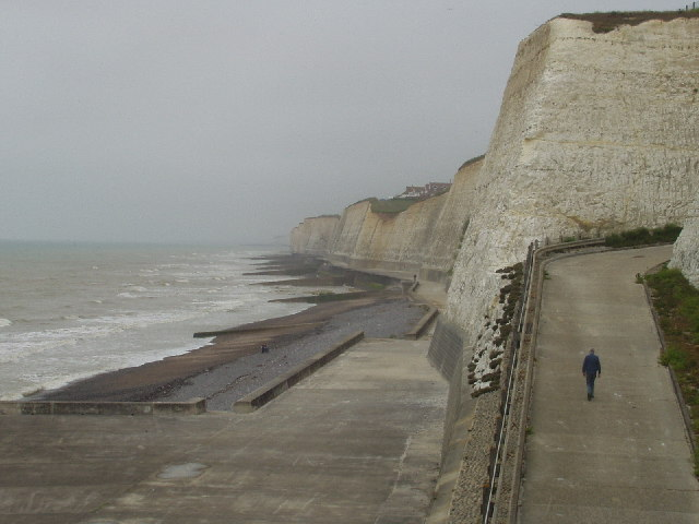 Coastal Defences at Peacehaven