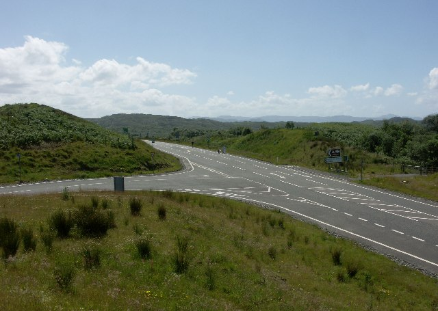 A830 near Kinloid junction