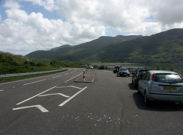 A830 near head of Loch Ailort