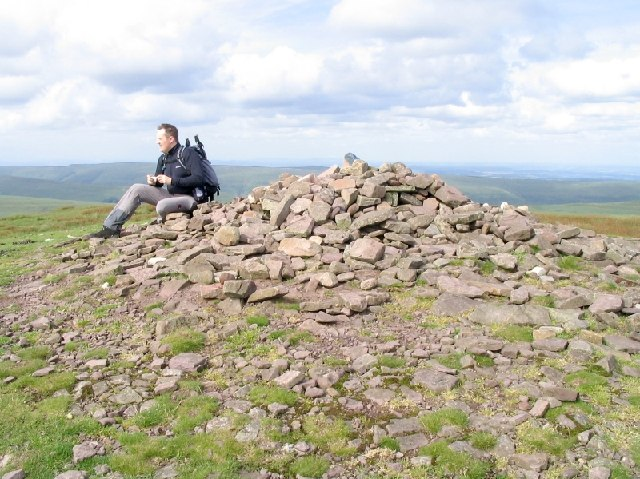 Summit Cairn on Pen y Gadair Fawr