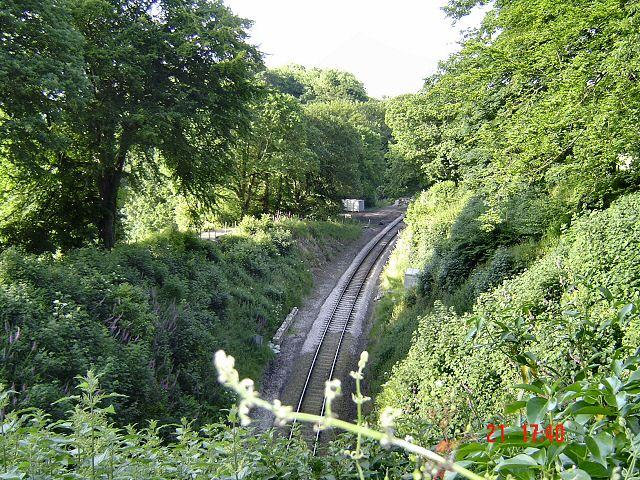 Railway near Greenaway