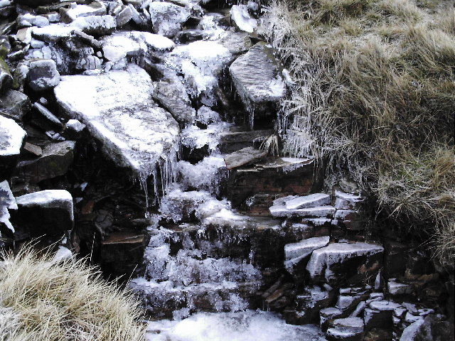 Stream coming off Fountains Fell